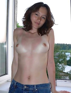 Nice selection of a horny naked cutie's hot selfpics