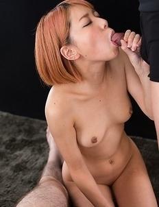 Chie Kobayashi Cummy Handjob