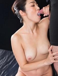 Ryu Enami Gives Sloppy Cum Covered Blowjob
