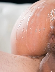 Alexis Crystal Cum Covered Pussy Fucked