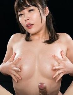 Yui Kawagoe Cum Covered Handjob