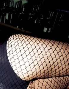 Neo babe with sexy legs and hot butt is such a pary girl