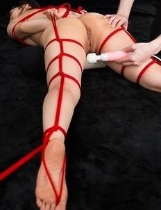 Beautiful rope bondage gallery featuring the hottest JAV slavegirl, Sana Iori