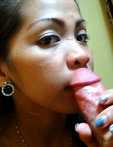LBFM spinner April enjoys white cock and sticky facial