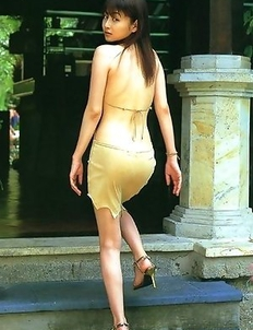 Anri Sugihara with huge assets and sexy legs is very active