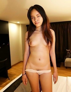 Almost-virgin Thai cutie Fa has orgasmic union with white cock twice her size