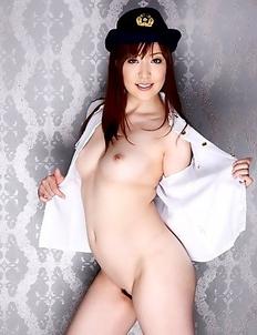 Hot Akane Satozaki shows her tits