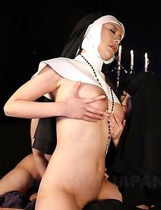 Priest fucks some naughty darlings