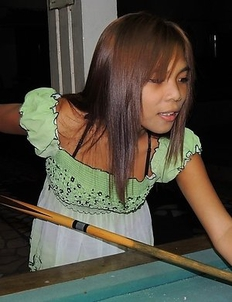 Petite young Filipina girl Yumi