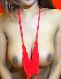 Sexy Thai cutie Tittiporn with huge boobs