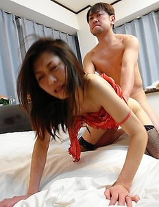 Hot Noriko Sudo enjoys in hard sex