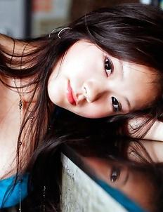 Kana Tsuruta shows fine behind in most provocative ways