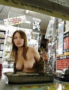 Hot darling Nami Misa showing off