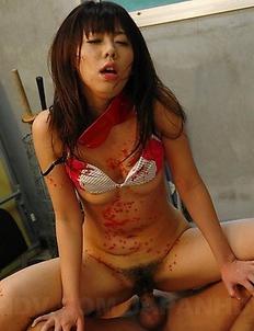 Hot teacher Maho Sawai gets tied up