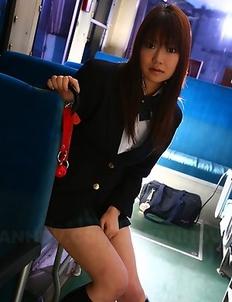 Redhead Yayoi Yoshino gets slammed