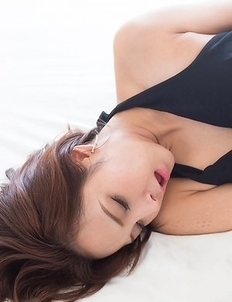 Leggy pantyhose-clad chick Uika Hoshikawa fucked hard in multiple positions