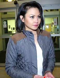 Skinny Filipina-American Lidia