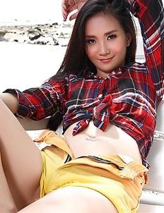 Young Asian model Lolita Cheng