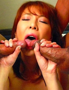 Ryo Hirase gets a nasty facial