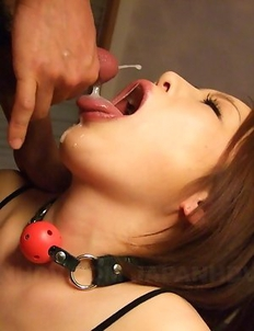 Hiromi Tominaga loves warm jizz