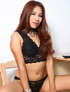 Asian beauty Lilah is going to fuck herself with a black dildo