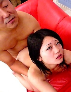 Two slutty Asian babes get fucked
