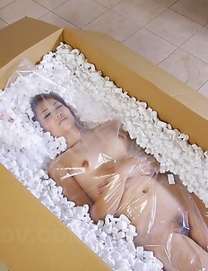 Slim Iori Mizuki shows her body