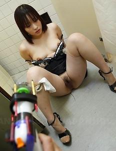 Haruna Sendo nipple teased