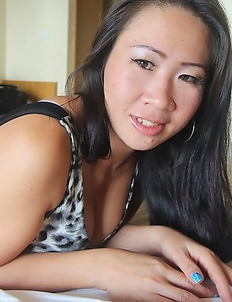 Chubby Thai babe with big tits