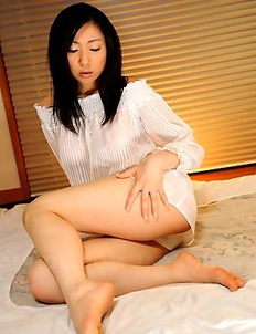 Young Emiko Koike shows her undies
