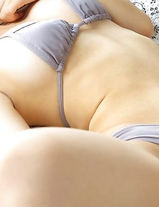 Azusa Togashi plays with her big assets and shows hot ass