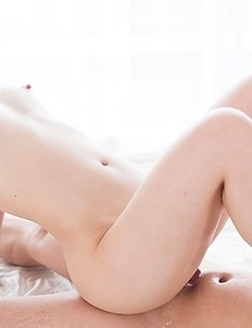 Yui Kasugano puts her feet on his face while teasing him with that smooth slit
