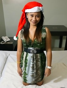Adorable Asian teen Sylvan