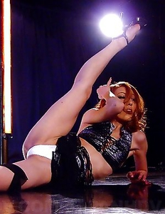Sally Yoshino is a sexy stripper