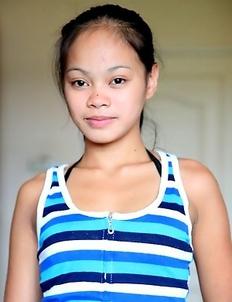 Asian teen Arcel