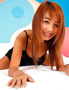 Cute young Thai spinner