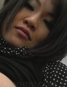 Yoshimi Inamori shows big boobs with dark