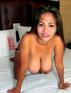 Busty Filipina MILF and hot young friend