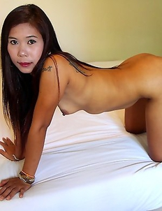 Thai asshole while hot-swapping her holes