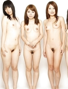 Outdoor people orgy shows naked Asian babes