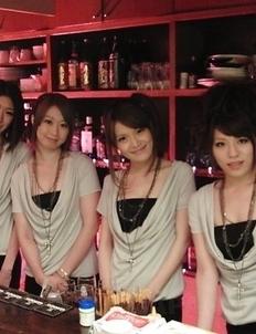 Hot Anna, Haruka, Hinata, Kana get anal sex