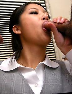 Slutty Satomi Suzuki loves sperm