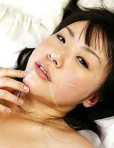 Teen Tsubomi screwed and cumfaced