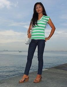 Skinny Asian Lovely
