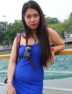 Raven-haired Filipina Sheree
