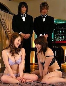 Foursome with Yukina and Kurara