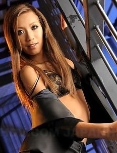 Dirty inspector Kei does striptease