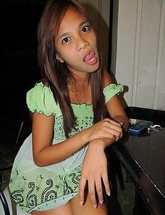 Petite young Filipina girl Yumi