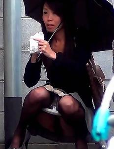 PissJapanTV has Piss Fetish Videos with Girls Pissing - Making It Rain